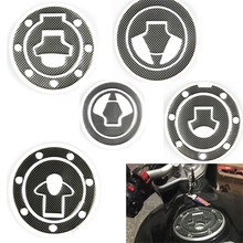 Carbon Fiber Universal Motorcycle Oil Gas Fuel Tank Stickers Protector Crystal Epoxy Pad Decal Stickers For Honda Yamaha Suzuki