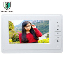 Premium Hot 7'' Doorbell Video Intercom Doorbell Camera Viewer Doorphone Monitor System Security Camera Intercom SY819M11