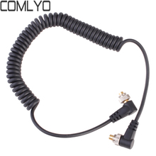 1.5m Male to Male FLASH PC Sync Cable for NIKON SC-15 SC-11 with Screw Lock for CANON 580EXII 7D 5DII NIKON D300S YONGNUO RF-602