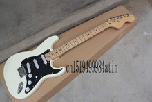 American Standard Stratocaster White Strat Electric Guitar USA custom body @21(China)
