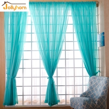 Modern Solid Snow Tulle Curtain Smooth sheer 100% Polyester Fabric for Drawing room Decor Rod Pocket Top Style sheer Curtain 1pc