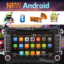 android 6.0 Double 2 Din Car Stereo DVD Player GPS Bluetooth For Volkswagen VW PASSAT TIGUAN Bora GOLF 5 6 4 Fabia Superb GPS