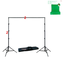 DHL TNT 2Mx2M 79x79In Background Holder Adjustable Muslin Background Backdrop Support System Stand Kit Carrying Bag photography