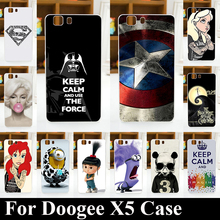 For DOOGEE X5 X5PRO X 5 X 5PRO Soft Silicone tpu Plastic Mobile Phone Cover Case Color Paitn Painting Cellphone Bag Shell