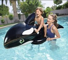 Summer Fun Island Water Entertainment Thickening Safety Bestway 41009 Children's Water Seat Riding Toys Black Whate Pool Float(China)