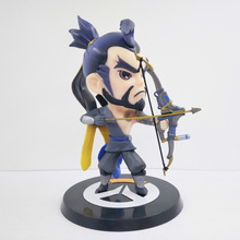 Hanzo figurine OW Heros Hochot Game Japanese Anime Statue Figure PVC Fans POP Collection Model