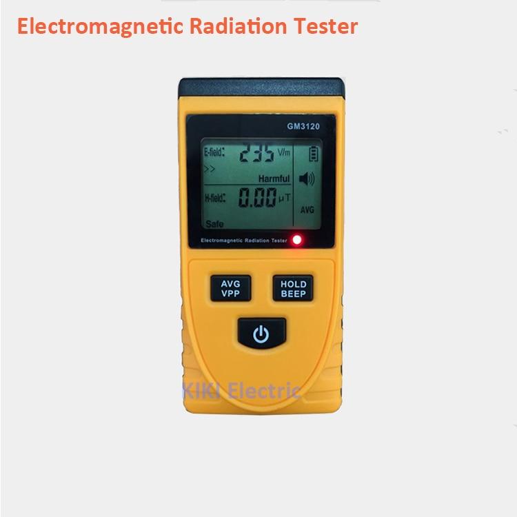 Living Environment Use LCD Electromagnetic Radiation Tester  Dosimeter Tester EMR Detector GM3120 for baby or children health<br>