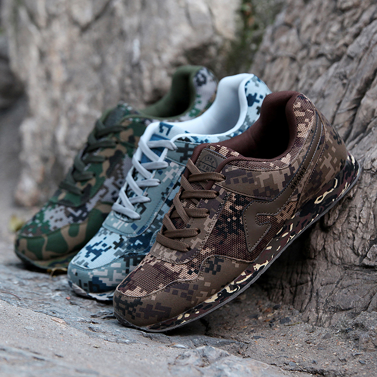 Camouflage Shoes men Camouflage Skidproof Trekking outdoor Shoes Men Military trainer Shoes zapatos hombre basket New 2017<br><br>Aliexpress