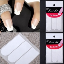 French Manicure Nail Art Tips Creative Nail Tape Stickers Tape Pattern On Nail Fringe Guides Sticker DIY Design