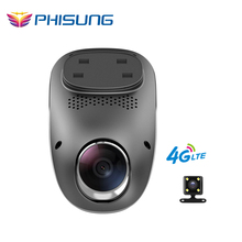 Phisung T1 4G dashcam Android GPS ADAS dash camera dual lens camara automovil Night Vision auto camera mini hidden car dvr wifi