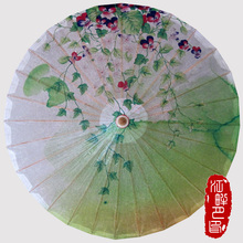Chinese Grass Butterfly Flower Sunshade Parasols Umbrella Women Kids Traditional Dance Parasol Japanese Props paraguas