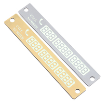 Luminous Car Styling Phone Number Card For BMW F31 F34 F32 E52 E53 E60 E90 E91 E92 E93 F30 F20 F10 F15 F13 M3 M5 M6 X1 X3 X5 X6(China)