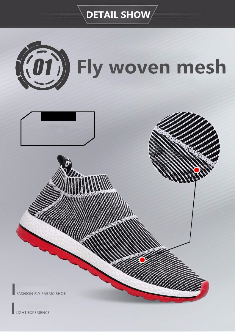 Hot Sale Breathable Men Shoes Mesh (air Mesh) Superstar Sneakers Light Flats Mens Loafers Casual Slip on Male Chaussure Homme 12