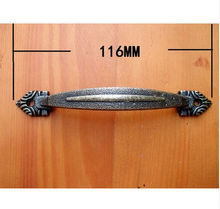 116mm Home Hardware Antique closet handles door handle Wooden Furniture handle Drawer  Wardrobe  Handle bar  Wholesale
