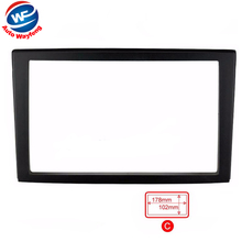 2016 Top Quality Car refitting DVD frame,DVD panel,Dash Kit,Fascia,Radio Frame,Audio frame Fit For 2002 Mazda Premacy, 2DIN(China)
