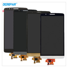Buy AAA Black/White/Gold/Grey LG G3 D850 D855 LCD Display Touch Screen Digitizer Assembly Repair Replacement Parts Free for $29.99 in AliExpress store
