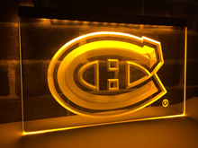 LD091- Montreal Canadiens Hockey NR   LED Neon Light Sign     home decor  crafts