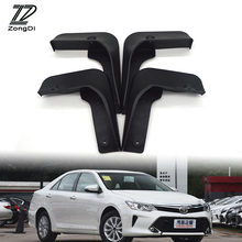 ZD Car Front Rear Mudguards For Toyota Camry 2015 2016 2017 (Except North American models) Accessories Mudflaps Styling Fenders(China)