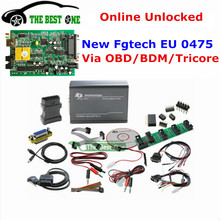 DHL Free Online Fgtech 0475 Galletto 4 Master V54 EU Version ECU Programmer By OBD-BDM-Tricore Fg Tech Car Truck Tuning Tool(China)