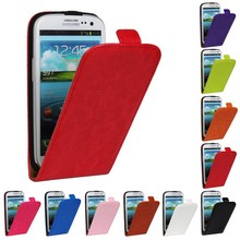 Cover For Samsung Galaxy S3 SIII Luxury Genuine Leather Flip Case For Samsung Galaxy S3 i9300 9300 Vertical PU Shell Phone Bags