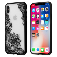 Floral Sexy Lace Mandala Case Fashion Vintage Flower Clear Cover For iPhone X 8 7 5 5S SE 6 6S Plus Phone Capa Back(China)