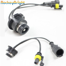Rockeybright AMP D2S D2R D2C hid xenon kit cable for car D2S cable xenn bulb converter harness wire d2S hid socket connector