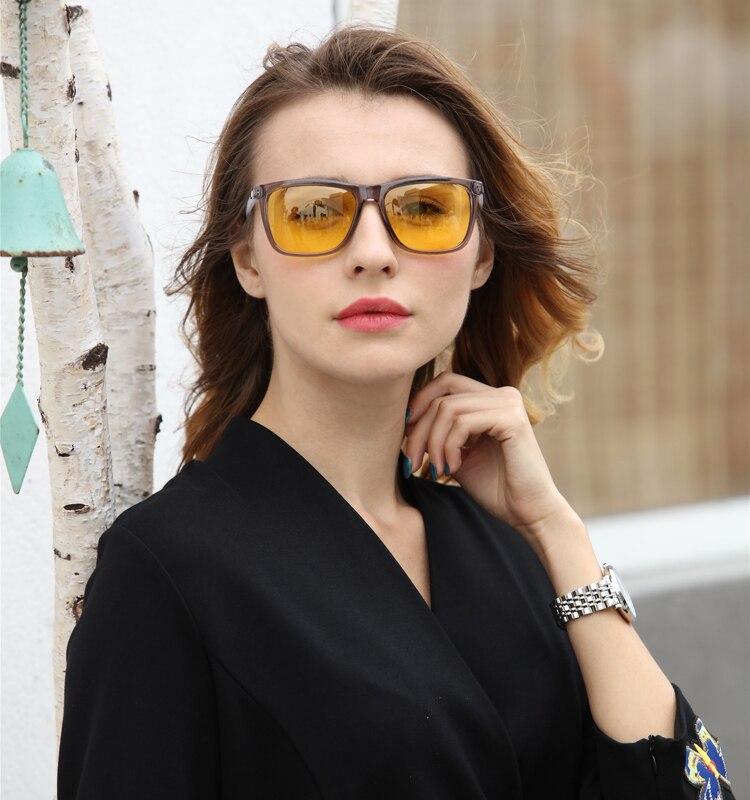 Ralferty Night Vision Glasses Male Anti-glare HD Polarized Sunglasses Men Women Driving Glasses Yellow Driver Eyewear K7031 750