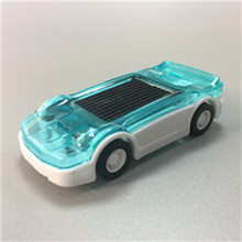 Newest DIY Assembly Solar Power Energy Mini Car Racing Racer Plastic Scientific Educational solar toy Gift Boys(China)