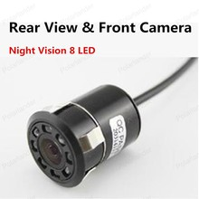 best selling Universal Night Vision Rear View & Front Camera 8 LED light 18.5mm Punch Invisible Infrared camera