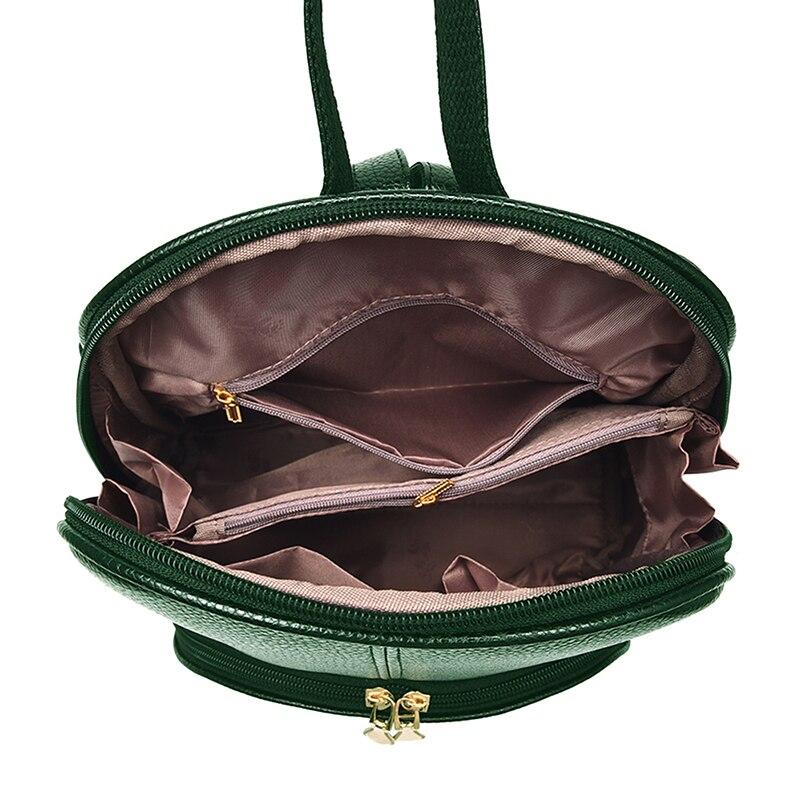Nevenka Women Backpack Leather Backpacks Softback Bags Brand Name Bag Preppy Style Bag Casual Backpacks Teenagers Backpack Sac10