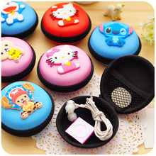 New Earphone Storage Bag Case For Headphone Earbuds Key Coin Hard Holder Box Carrying Hard Hold Case Memory Card Ear Pads(China)
