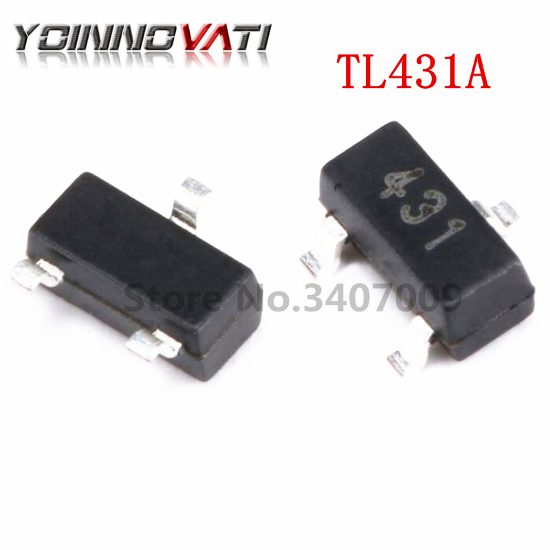 1000Pcs TL431A TL431 TO92 Programmable Voltage Reference bc
