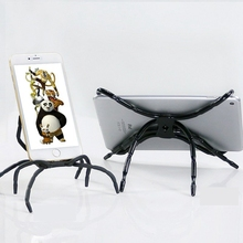 Funny! DIY Universal Mobile Phone Holder Spider Desk Car Phone Holder for iPhone Stand Tablet Case Mount Cradle GPS Vehicle Bike