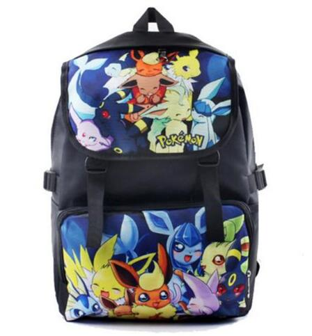 Pokemon Backpack Anime Printing Waterproof Backpack Boys Girls Teenagers Large School Bag Casual Travel Bag Mochila<br><br>Aliexpress