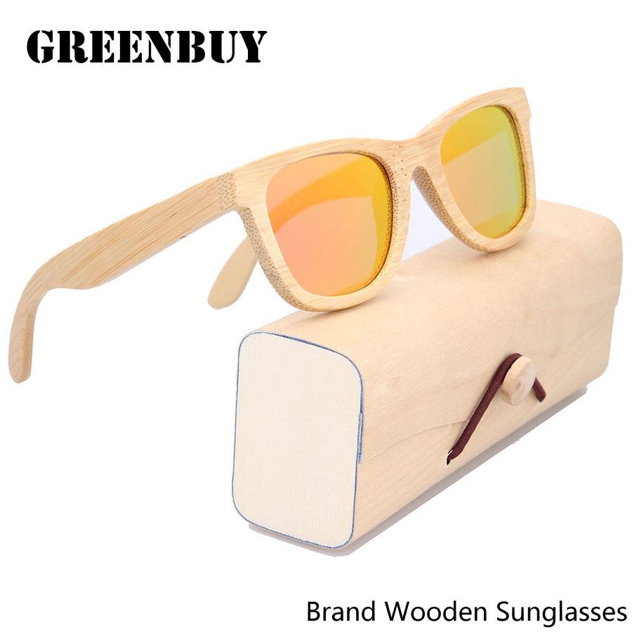 Free Logo Engraved Women Bamboo Sunglasses Frames Occhiali da sole uomo Polarized Sunglasses Men New Cool Wood Sunglass<br><br>Aliexpress