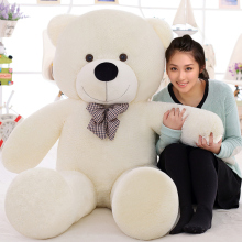 2017 lovely giant teddy bears stuffed animal /big bear plush toy/large teddy bear/huge teddy bear 100cm LLF