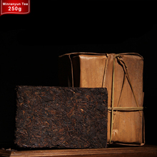 Made In1986 Ripe Puer Tea Brick 250g Chinese Yunnan Menghai Ancient Tree Oldest Puerh Tea Green Food Health Care Puerh Pu er Cha