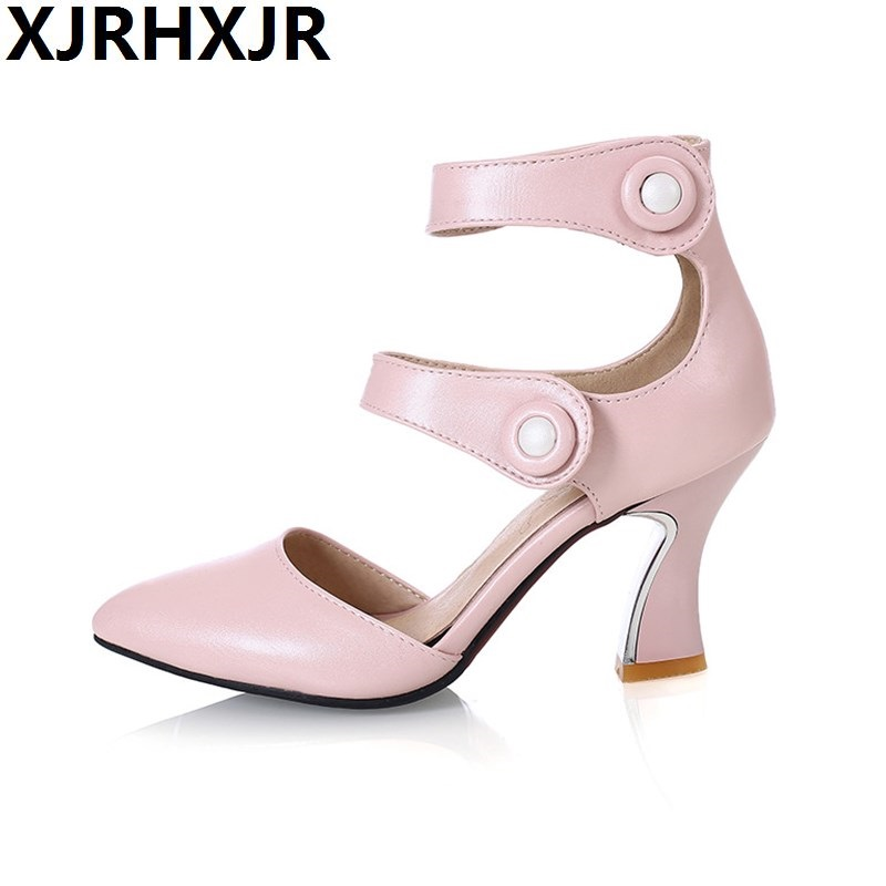 Fashion Pointed Toe Shoes Women Sexy High Heels Spring and Summer Sandals Dress Shoes Gladiator Female Casual Work Shoes<br>