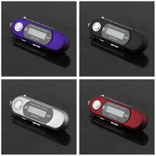 Popular Cute MP3 Players USB 2.0 Flash Drive Memory Stick LCD Mini Sports MP3 Music Player with FM Radio Car Gift