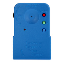 Mini Portable Wireless 8 Multi Voice Changer Blue Phone Microphone Portable Audio & Video(China)