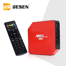 DHL Ship , Android 5.1 TV Box M8S Plus M8s Set Top Box Amlogic S905 2G/16G Gigabit 2Wifi Bluetooth4.0 Kodi Pre-installed