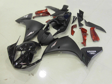 Injection Mold Fairing kit for YZFR1 09 10 YZF R1 2009 2010 YZF1000 Fashion black Motorcycle Fairings set+7gifts YB06