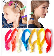 4pcs/lot hair accessories Successors Show Neon Candy Color Hair Rope Hair Head Band Ornaments used as Bracelet hair accessories