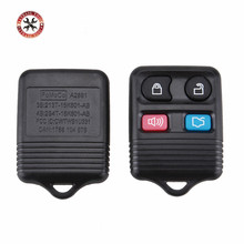 Hot sales 4 Buttons Remote Key Transit Keyless Entry Fob 315MHz/433mhz For Ford complete remote control Circuid Board included