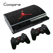 Basketball Kids Stickers For Sony PS3 Fat Conslole Skins For Playstation 3 Controller Decal Games