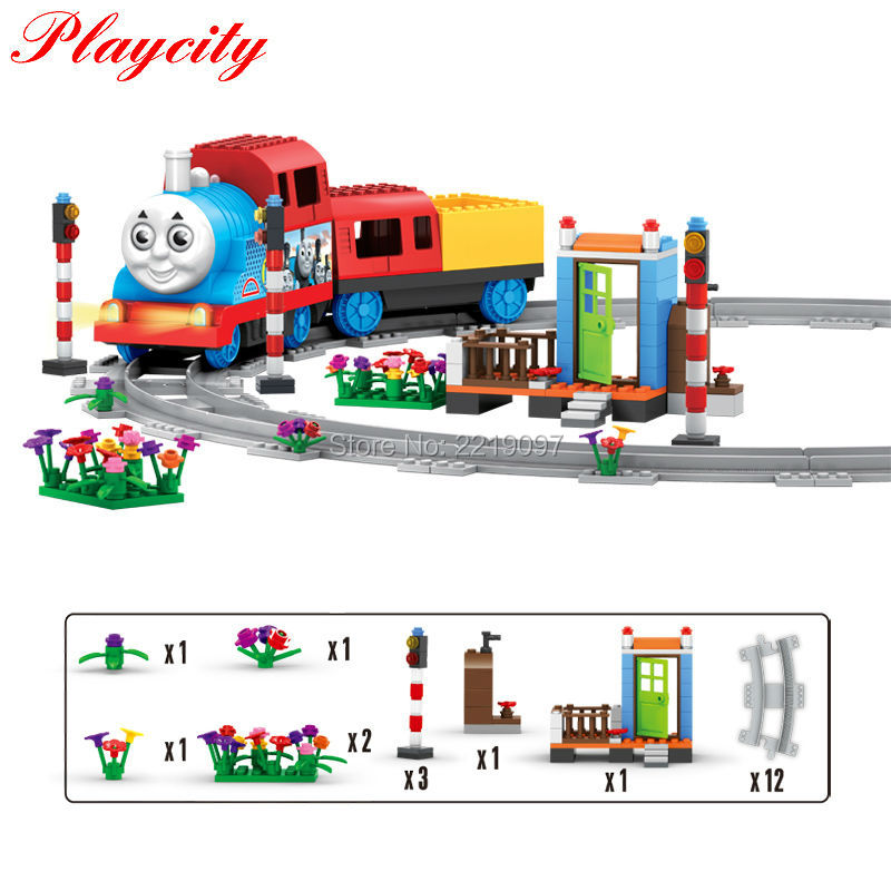 Fast Shipping Thomas And Friends Railway Wooden Kid Toys Gifts DIY Train Early Educational Building Blocks Bricks Model Learning<br><br>Aliexpress