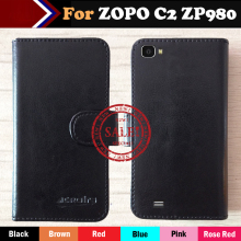 ZOPO C2 ZP980 980+ Case Flip Leather Smartphone Case For ZOPO C2 ZP980 980+ Pouch Case Cover Multi-Function Card Slots 6 Colors