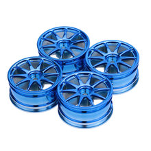 4Pcs/Set Run-flat Car Wheel Hub for HSP Traxxas Tamiya HPI Kyosho 1/10 RC On-Road Run-flat Model Car