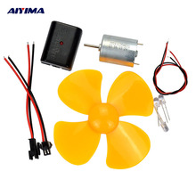 AIYIMA 1Set Used Mini Wind Turbine Generator Charger DC 5V USB Output For Cellphone Charging used motor
