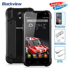Blackview BV5000 Mobile Phone 5 inch HD MTk6735 Quad Core Android 6.0 2GB+16GB 8MP Camera Waterproof IP67 4G Cellphone